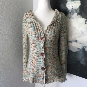 BCBGMAXAZRIA knit button-down Cardigan